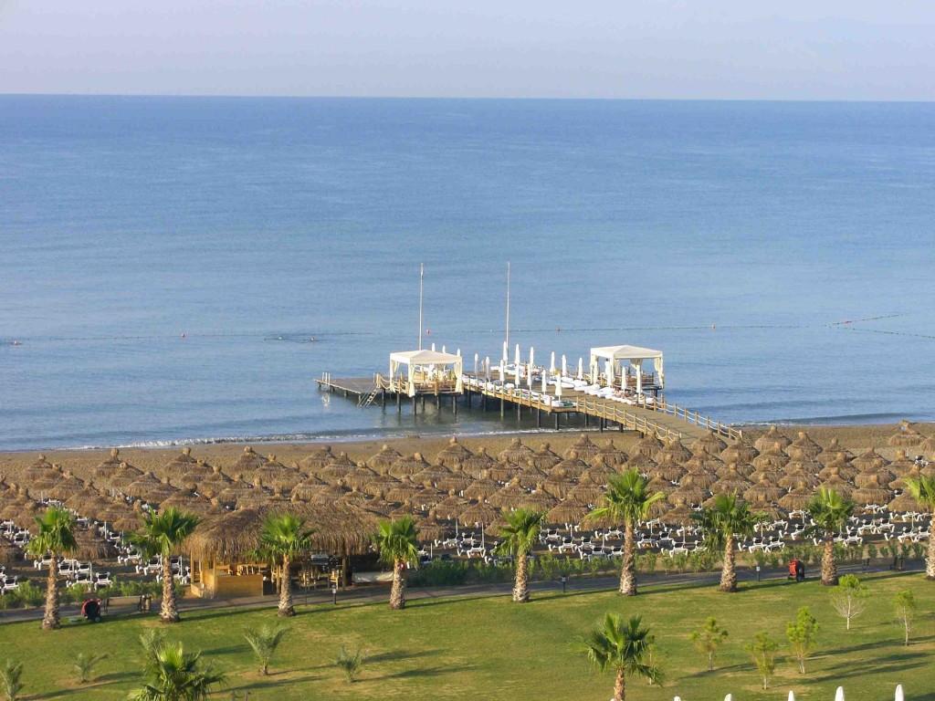 Strand des Hotels Voyage Belek