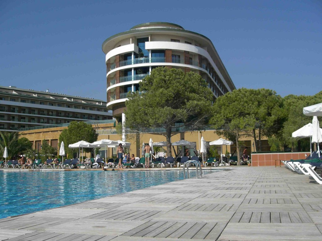 am Pool im Hotel Voyage Belek