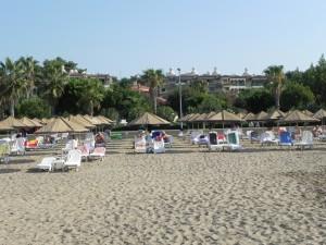 Strand in Side am Hotel Defne Star