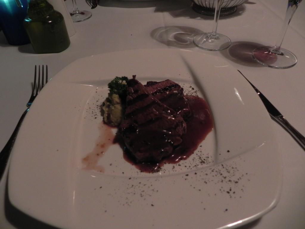 Steak im türk. Restaurant Rixos Sungate
