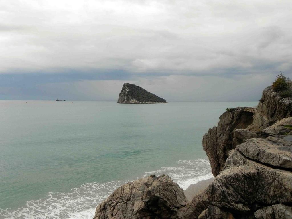 Am Strand kurz hinter Antalya