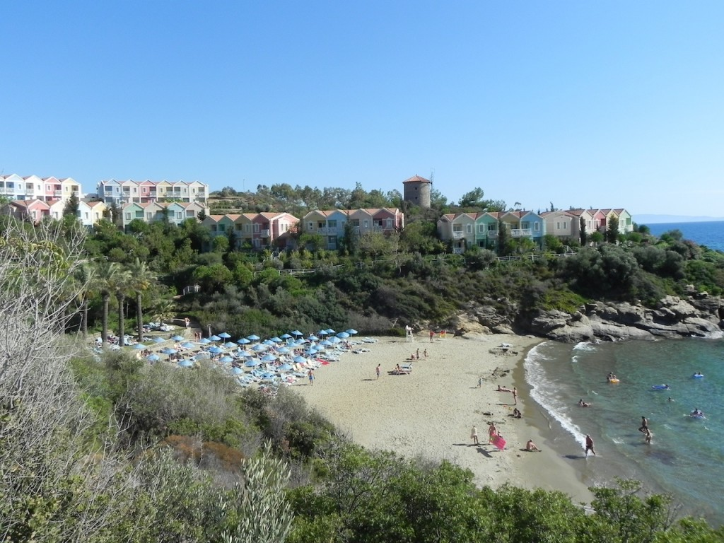 Strandansicht im Paloma Club Sultan