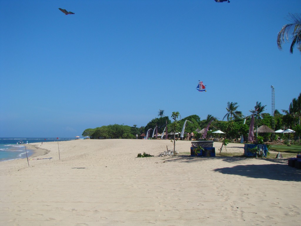 Am Strand von Nusa Dua