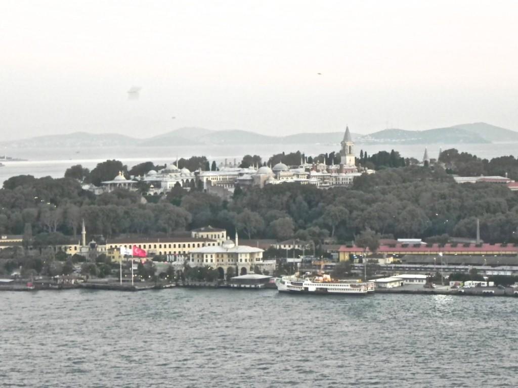 Blick zum Topkapi Palast