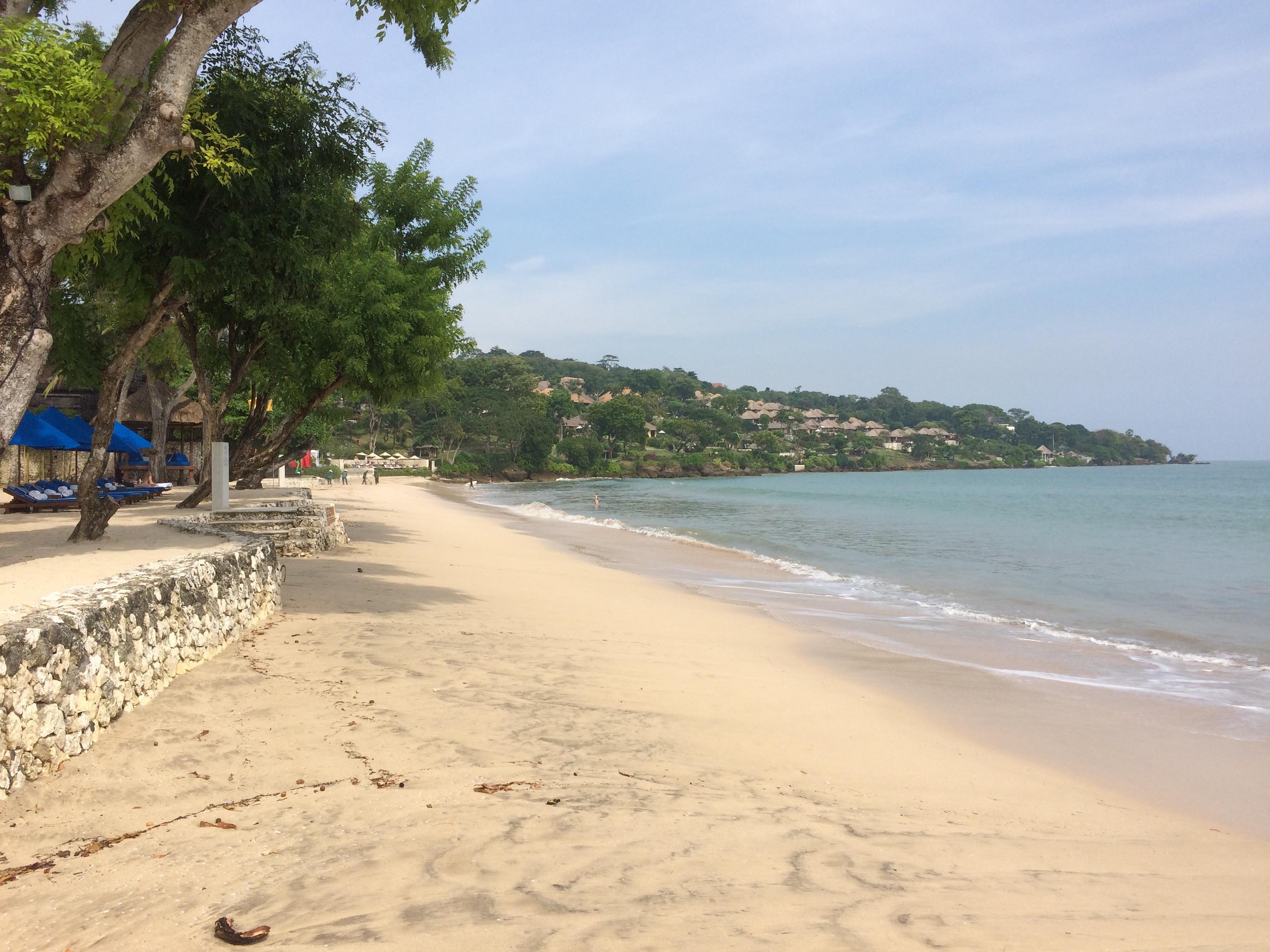 Am Strand von Jimbaran