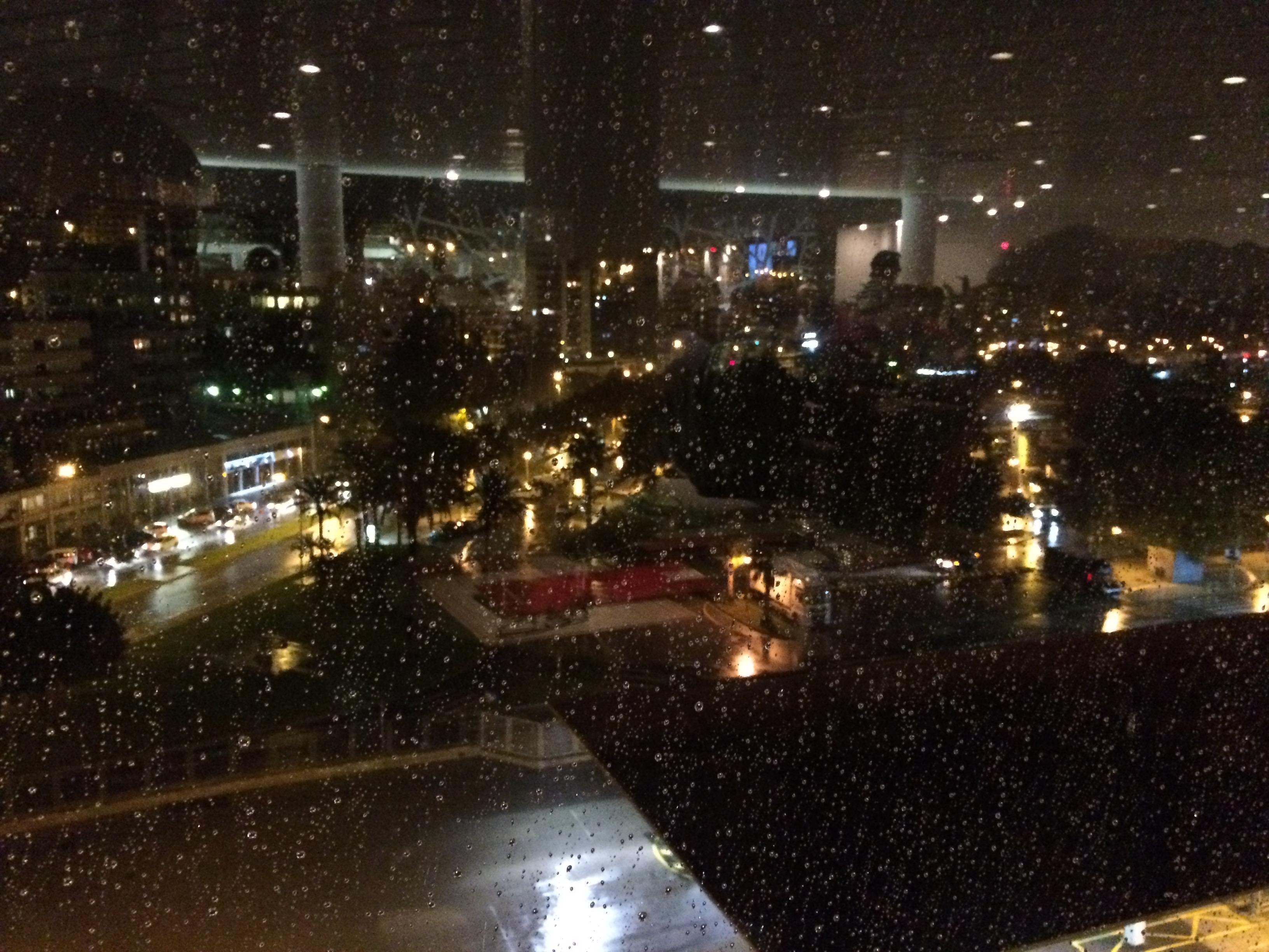 Regen in Palma