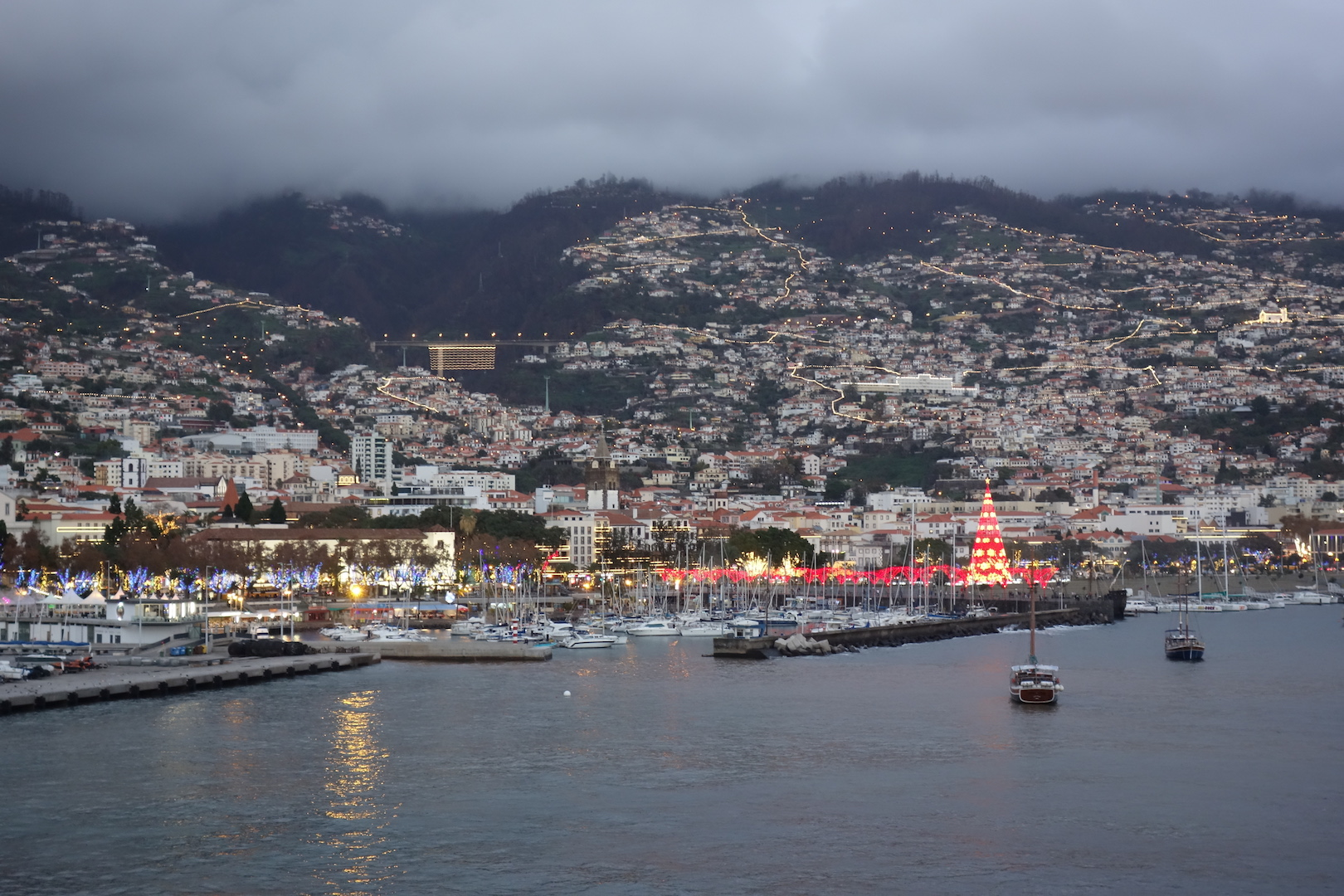 Abend in Funchal