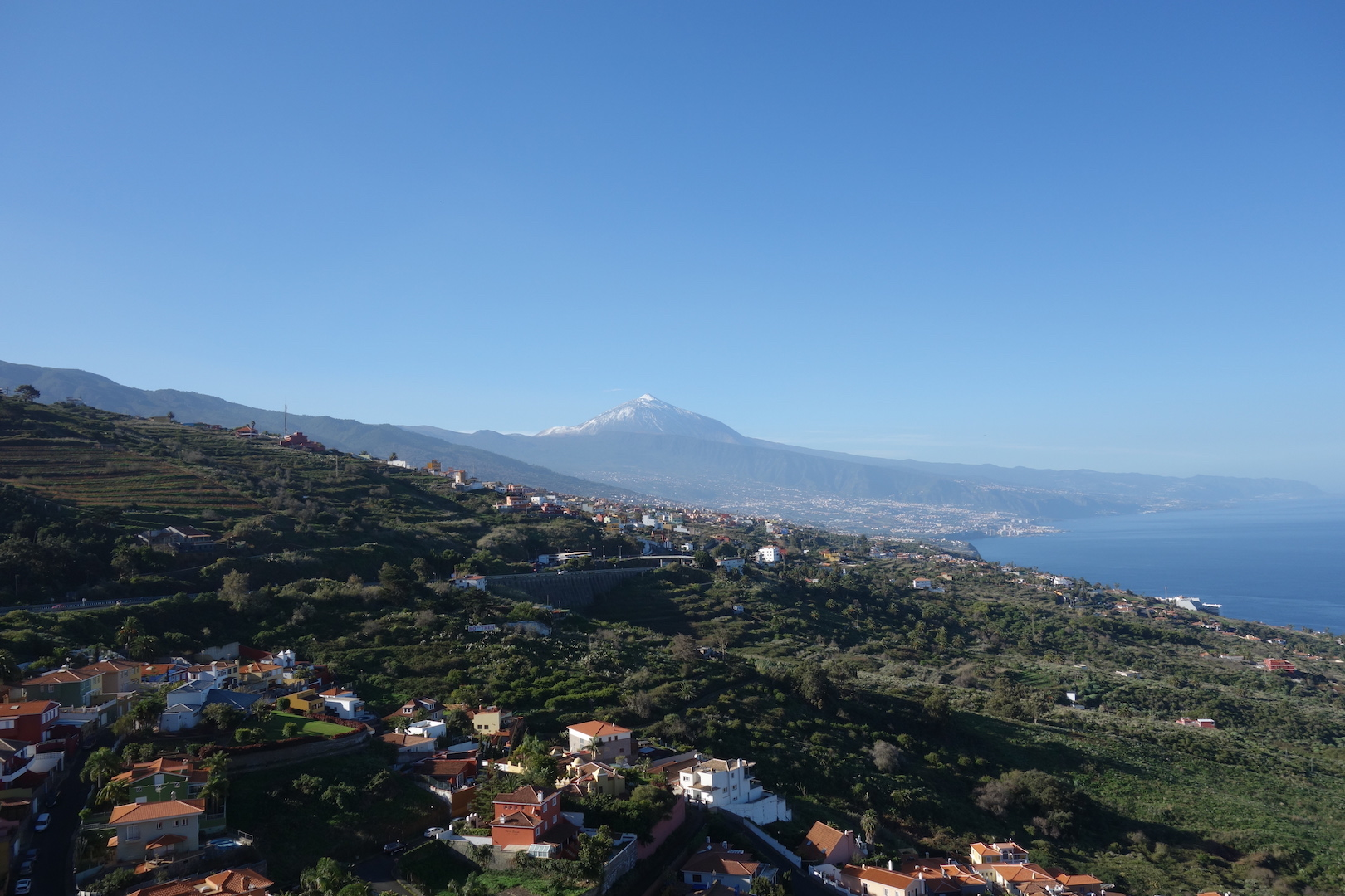 Orotava Tal und Blick auf den Teide1